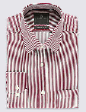 Pure Cotton Non-Iron Shirt with Pocket