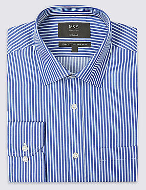 2in Longer Non-Iron Regular Fit Shirt