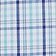 Cotton Rich Short Sleeve Regular Fit Shirt, AQUA MIX, swatch