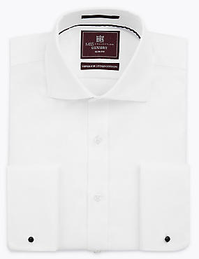 Pure Cotton Slim Fit Twill Shirt