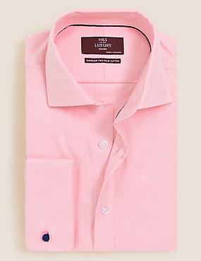 Pure Cotton Non-Iron Ultimate Twill Shirt