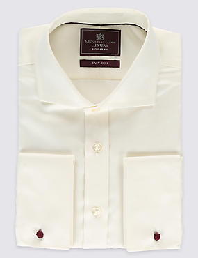 Pure Cotton Non-Iron Long Sleeve Shirt