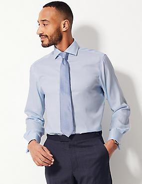 Pure Cotton Regular Fit Shirt, SKY, catlanding