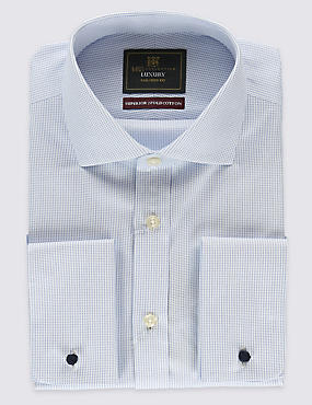 Pure Cotton Non-Iron Tailored Fit Shirts