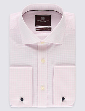 Pure Cotton Checked Shirts