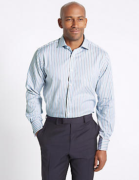 Pure Cotton Easy to Iron Regular Fit Shirt