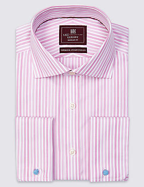 Pure Cotton Striped Shirt