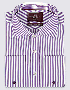 Pure Cotton Bengal Striped Shirt