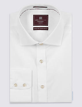 Pure Cotton Slim Fit Woven Shirt