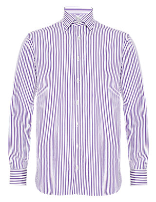 Pure Cotton Bold Striped Shirts Clothing