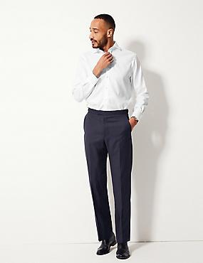 Pure Cotton Regular Fit Shirt, WHITE, catlanding