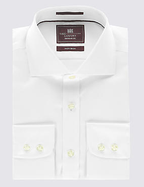 Pure Cotton Ultimate Non-Iron Twill Shirt