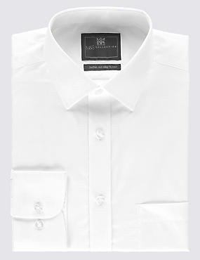 Easy to Iron Tailored Fit Shirt with Pocket