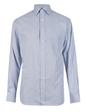 Easy to Iron Bengal Striped Shirt