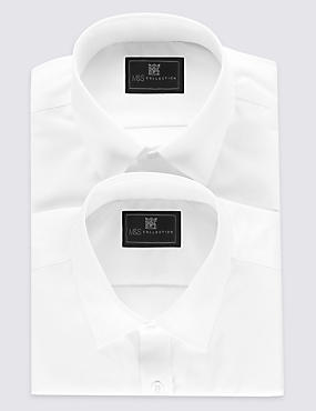 2 Pack Non-Iron Shirts with Pocket
