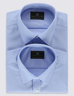2 Pack Non-Iron Shirts