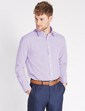 2 Pack Cotton Rich Shirts with Pockets