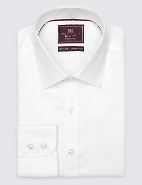 Tailored Fit Classic Collar Single Cuff Shirt