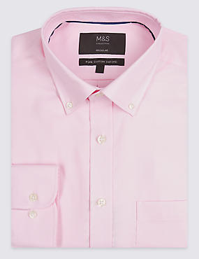 Easy to Iron Regular Fit Oxford Shirt
