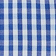 Pure Cotton Easy to Iron Oxford Shirt, BLUE MIX, swatch