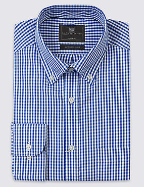 2in Longer Pure Cotton Oxford Shirt