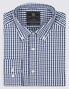 2in Longer Pure Cotton Shirt with Pocket