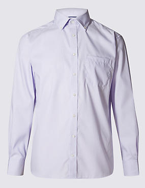 Pure Cotton Easy to Iron Shirt with Pocket