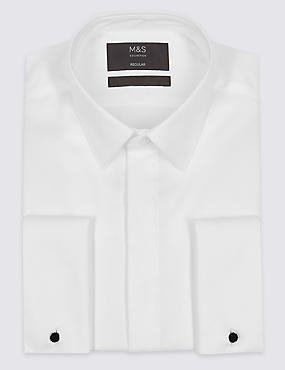 Easy to Iron Tailored Fit Dinner Shirt