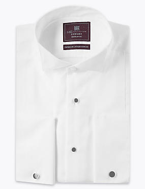 Pure Cotton Regular Fit Textured Shirt