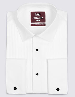 2inch Longer Pure Cotton Shirt