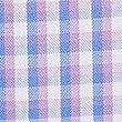 Short Sleeve Regular Fit Oxford Shirt, PURPLE MIX, swatch