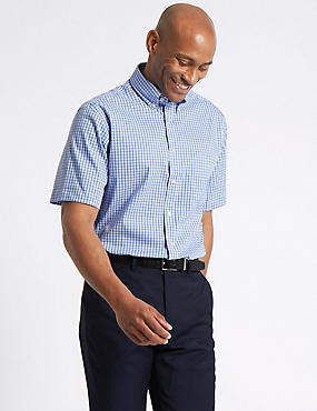 Pure Cotton Easy to Iron Regular Oxford Shirt