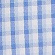 Short Sleeve Regular Fit Oxford Shirt, BLUE MIX, swatch