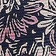 Pure Silk Floral Print Pocket Square, PINK MIX, swatch