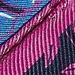 Pure Silk Floral Print Pocket Square, BRIGHT MAGENTA, swatch