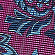 Pure Silk Printed Pocket Square, MAGENTA MIX, swatch