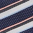 Textured Stripe Tie, CORAL MIX, swatch