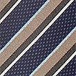 Textured Stripe Tie, BEIGE MIX, swatch