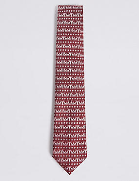 Novelty Christmas Motif Tie