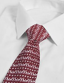 Christmas Motif Novelty Tie
