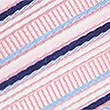 Striped Multi Colour Tie, PALE PINK MIX, swatch