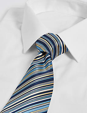 Striped Multi Colour Tie