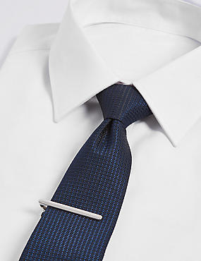 Textured Tie & Pin Set