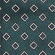 Geometric Print Tie, GREEN MIX, swatch