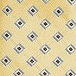 Geometric Print Tie, YELLOW MIX, swatch