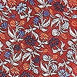 Floral Tie, ORANGE MIX, swatch