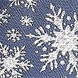 Snowflake Sparkle Christmas Tie, NAVY MIX, swatch