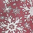 Snowflake Sparkle Christmas Tie, BURGUNDY MIX, swatch