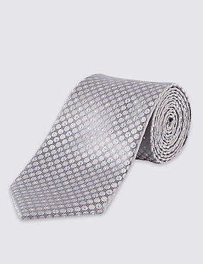 Micro Spotted Textured Tie