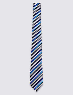 Satin Striped Tie